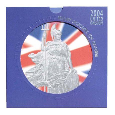 Royaume Uni 2004 Coffret Brillant Universel de 10 monnaies
