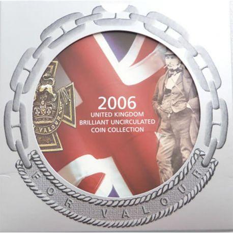Royaume Uni 2006 Coffret Brillant Universel de 10 monnaies