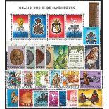 Luxemburg Jahr 1985 vervollständigt neue Briefmarken