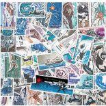 Collezione di francobolli terre australi francesi cancellati
