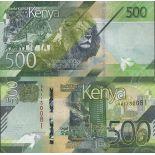 Billet de banque collection Kenya - PK N° 999 - 500 Shilling