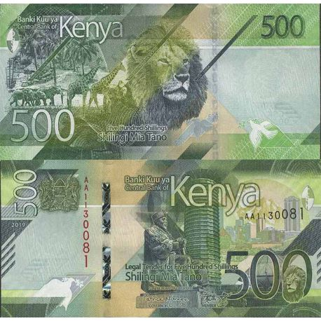 Billet de banque collection Kenya - PK N° 999 - 500 Shilling
