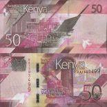 Billet de banque collection Kenya - PK N° 999 - 50 Shilling