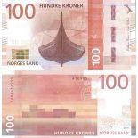 Billet de banque collection Norvège - PK N° 54 - 100 Kronur