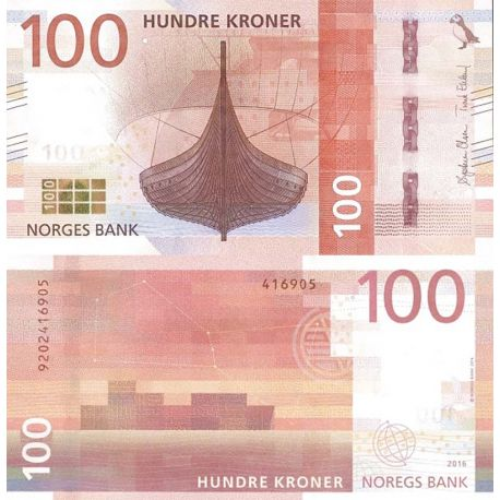 Billet de banque collection Norvège - PK N° 54 - 100 Kronur