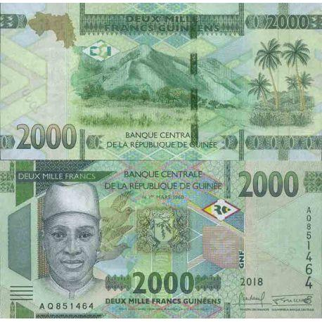 Billet de banque collection Guinée Française - PK N° 999 - 2000 Francs