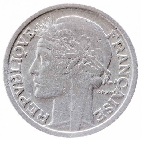 Pièce 2 franc Morlon 1941/1959