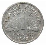Monete 1 franco 1996 Jacques Rueff