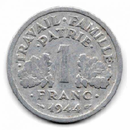 Pièce 1 franc Francique 1943/1944