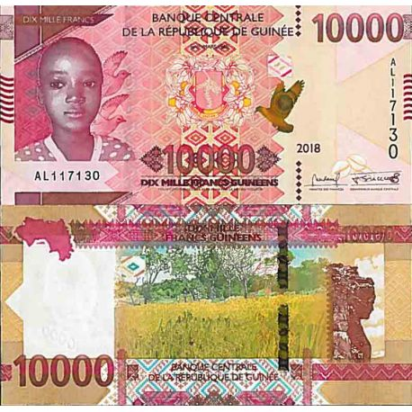 Billet de banque collection Guinée Française - PK N° 999A - 10 000 Francs