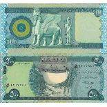 Billet de banque collection Irak - PK N° 98 - 500 Dinars