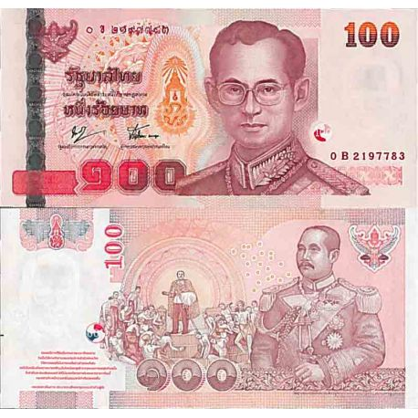 Billet de banque collection Thaïlande - PK N° 114 - 100 Baht