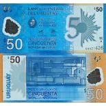 Billet de banque collection Uruguay - PK N° 100 - 50 Pesos