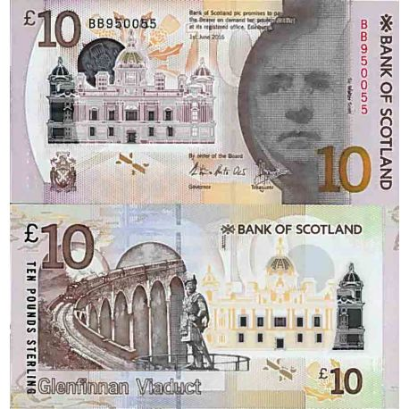Billets de collection Billet de banque collection Ecosse - PK N° 131 - 10 livre Billets d'Ecosse 45,00 €