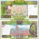 Billet de banque collection Guinée Française - PK N° 47B - 500 Francs