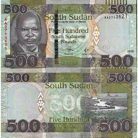 Billets de collection Billet de banque collection Soudan du Sud - PK N° 16 - 500 Pounds Billets du Sud-Soudan 22,00 €