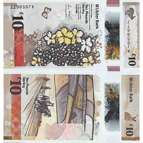 Billet de banque collection Irlande Nord - PK N° 9999 - 10 Pound