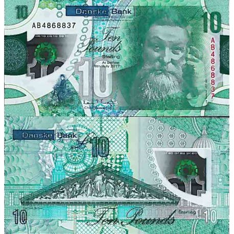 Billet de banque collection Irlande Nord - PK N° 99992017 - 10 Pound