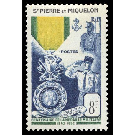 Timbre collection St Pierre & Miquelon N° Yvert et Tellier 347 Neuf sans charnière