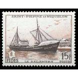 Timbre collection St Pierre & Miquelon N° Yvert et Tellier 352 Neuf sans charnière