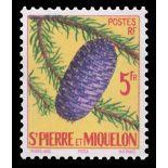 Timbre collection St Pierre & Miquelon N° Yvert et Tellier 359 Neuf sans charnière