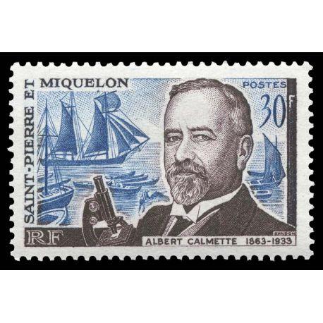 Timbre collection St Pierre & Miquelon N° Yvert et Tellier 368 Neuf sans charnière