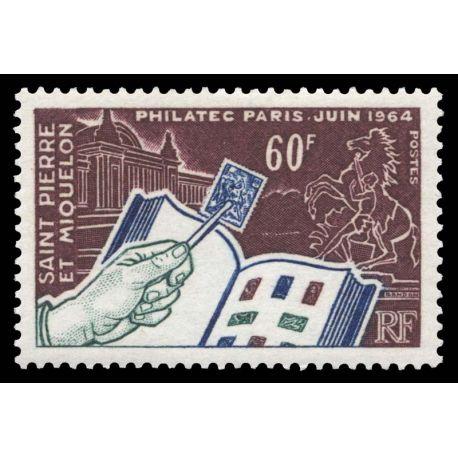 Timbre collection St Pierre & Miquelon N° Yvert et Tellier 371 Neuf sans charnière