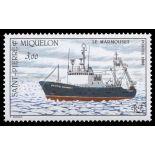 Timbre collection St Pierre & Miquelon N° Yvert et Tellier 493 Neuf sans charnière