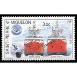 Timbre collection St Pierre & Miquelon N° Yvert et Tellier 528 Neuf sans charnière