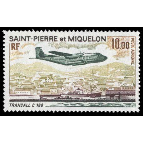 Timbre collection St Pierre & Miquelon N° Yvert et Tellier PA 57 Neuf sans charnière