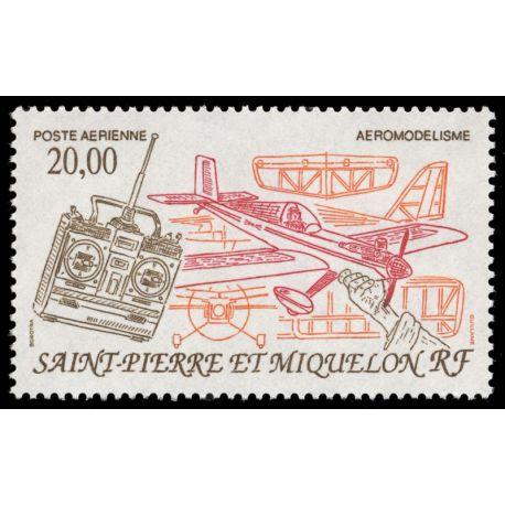 Timbre collection St Pierre & Miquelon N° Yvert et Tellier PA 71 Neuf sans charnière