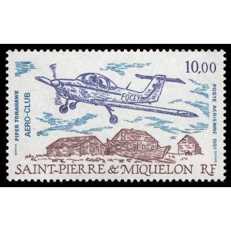 Timbre collection St Pierre & Miquelon N° Yvert et Tellier PA 70 Neuf sans charnière