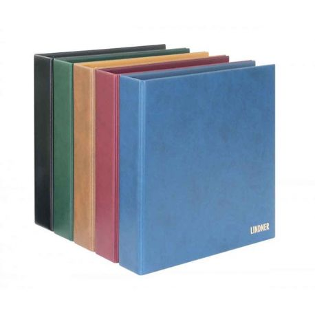Lindner Album à vis pour timbres