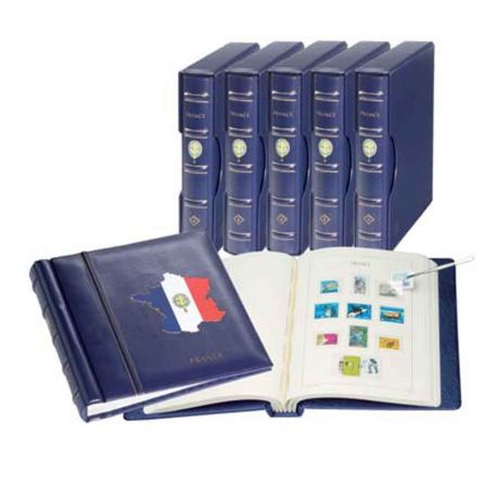 Lindner-Blätter für Frankreich - Jahr 1977 bis 1983
