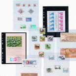 10 Recharges Leuchtturm Optima pour timbres, billets, cartes postales,...