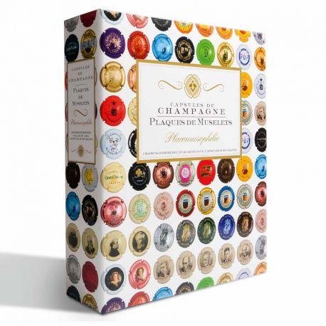 Rangez vos capsules de Champagne avec Leuchtturm Album Leuchtturm Grande pour 210 plaques de muselets 39,95 €