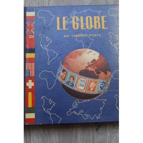 Collection de timbres du monde entier oblitérés
