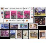Andorra francese anno 2005 completa francobolli nuovi
