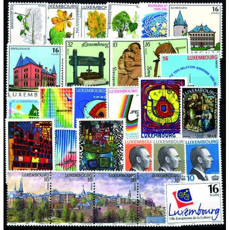 Luxembourg Year 1994 Supplements new stamps