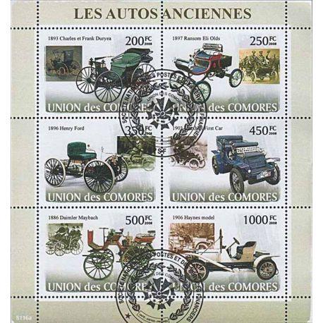 Timbres thèmatiques Comores N° 1249/1254 Oblitérés