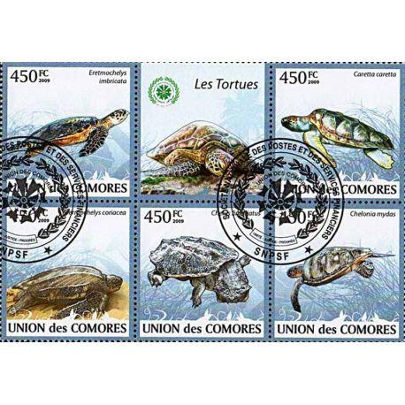 Timbres thèmatiques Comores N° 1641/45 Oblitérés