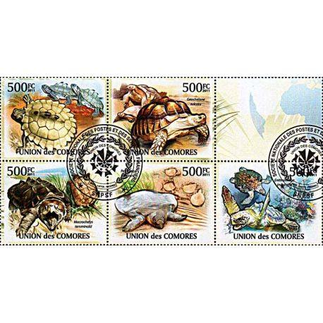 Timbres thèmatiques Comores N° 2160/64 Oblitérés