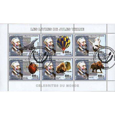 Timbres thèmatiques Congo N° 1689/1694 Oblitérés
