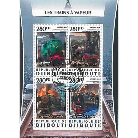 Timbres thèmatiques Djibouti N° 1059/1062 Oblitérés