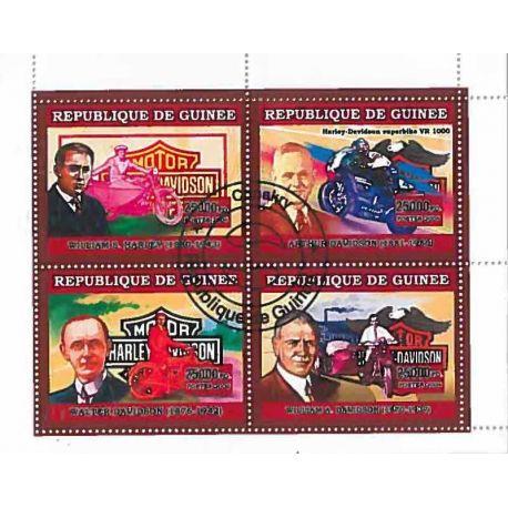 Timbres thèmatiques Guinée N° 2811/2814 Oblitérés