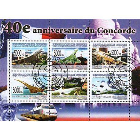 Timbres thèmatiques Guinée N° 4113/18 Oblitérés