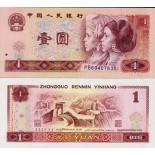 Collection of Banknote China Pick number 884 - 1 Yuan Renminbi 1980