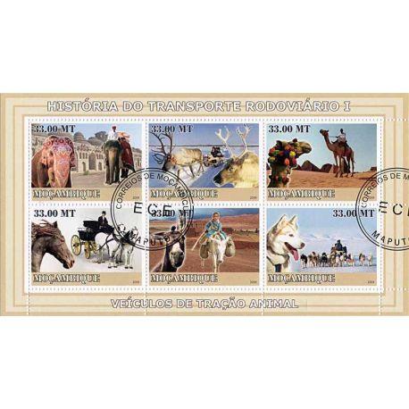 Timbres thèmatiques Mozambique N° 2512/17 Oblitérés