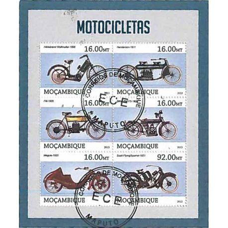 Timbres thèmatiques Mozambique N° 5399/5404 Oblitérés