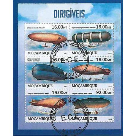 Timbres thèmatiques Mozambique N° 5447/5452 Oblitérés